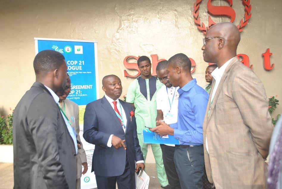 Post COP 21 dialogue in lagos sheraton hotel niger
