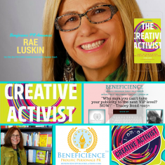 Beneficience PR Announces & Welcomes STAR PR Client & Celebrity RAE LUSKIN