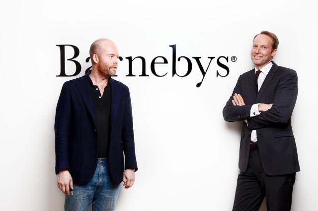 Barnebys co-founders Christopher Barnekow (left ) and Pontus Silfverstolpe.