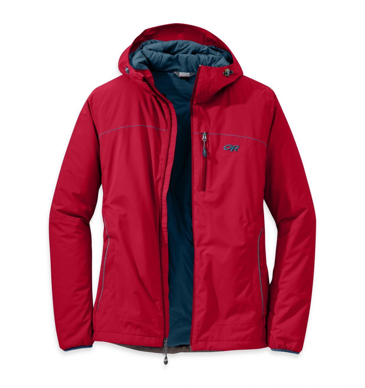 Razor Edge Hooded Jacket