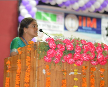 Dr.Theivasanthi Speaking in NCPCM, NIT- Rourkela