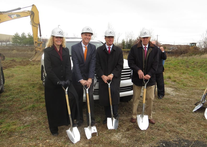 Thompson Lexus Willow Grove >> Thompson Breaks Ground For Willow Grove Lexus Dealership
