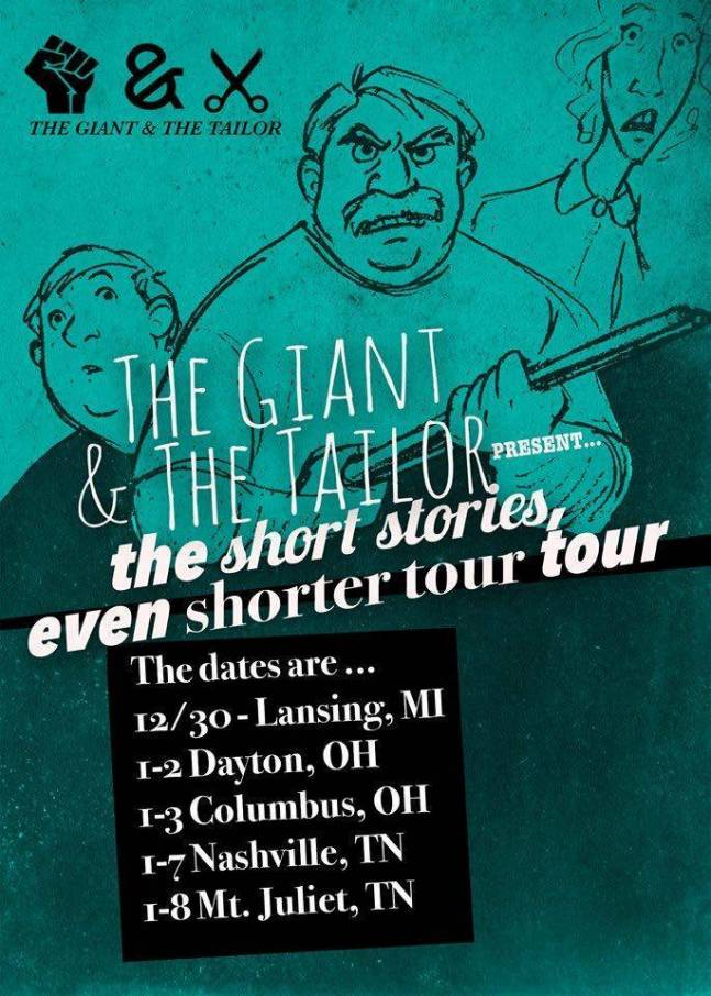 The Giant & The Tailor Tour Poster
