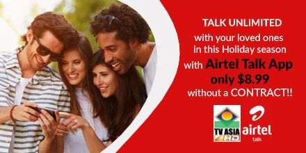 Talk unlimited from USA to India with special calling plans!! -- TV
