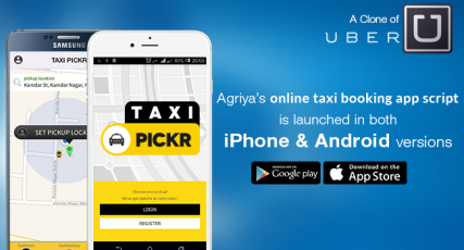 TaxiPickr - Uber Clone Script Launch