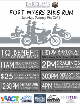 Barclay's Real Estate Biker Run 1.9.16
