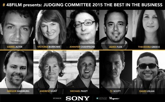 48FILM Project announces 2015 Jury.
