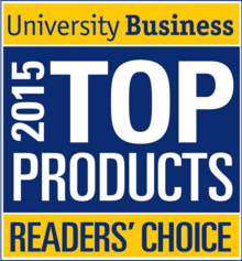 University Business Readers' Choice Top Product of 2015