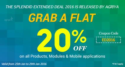 Agriya's Extended Deal 2016
