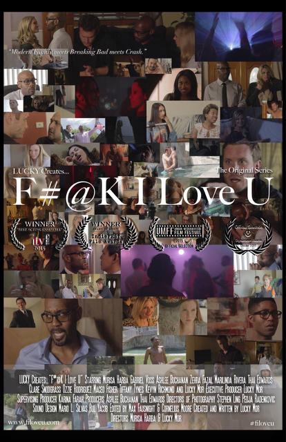 F#@K I Love U Poster