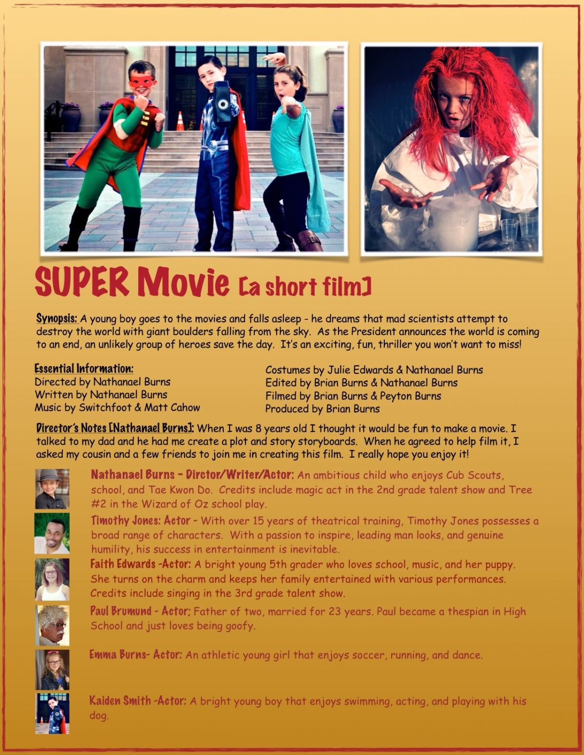 SUPER Movie PRESS KIT