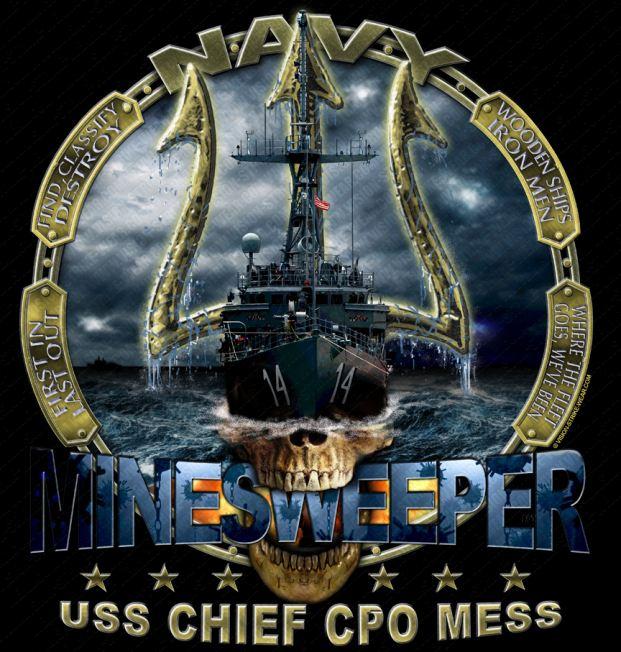 USS Chief MCM-14 Mess Shirts