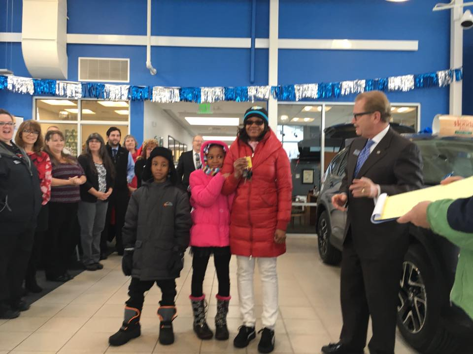The Underriner Motors Car Giveaway Supports A Family In