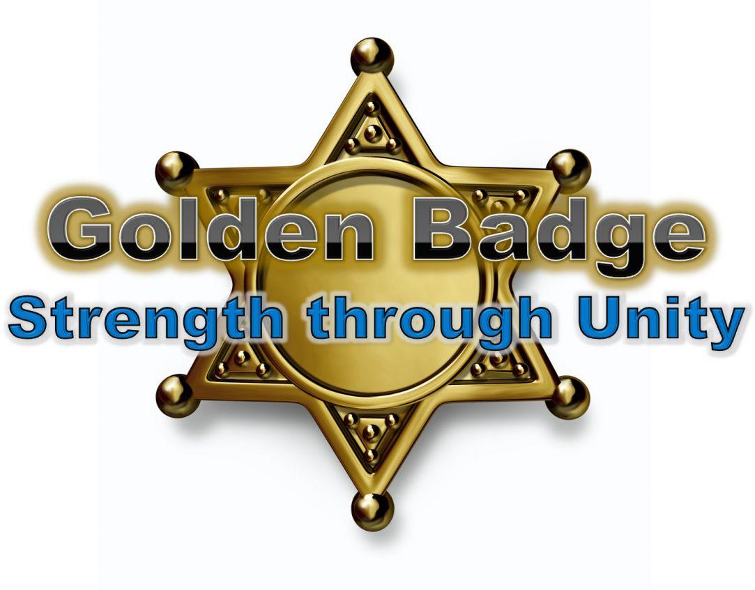 Get Behind the Golden Badge. Find us on Facebook.