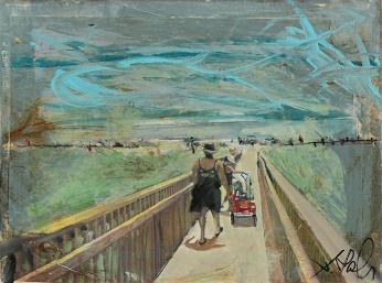 """Red Wagon"" by John Ross Palmer"