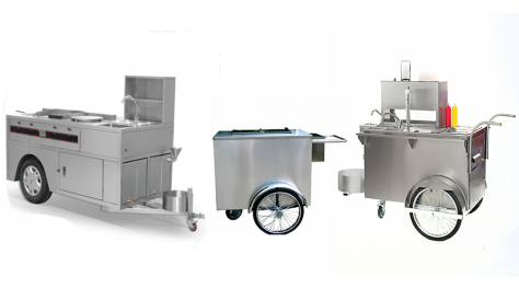 Crown food carts and trailers