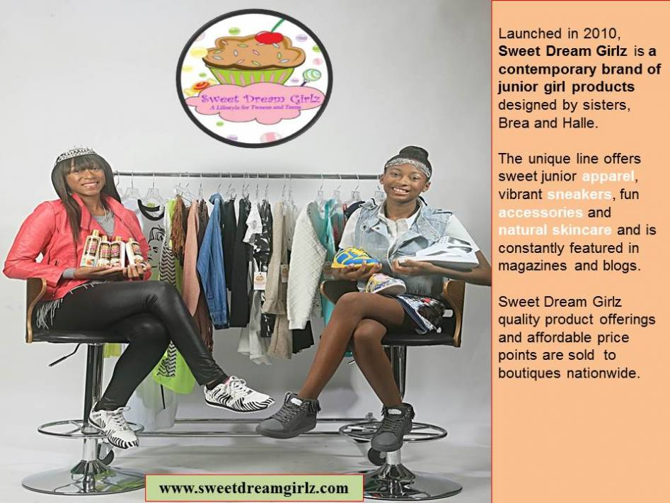 Sweet Dream Girlz, A Lifestyle Brand For Junior Girls