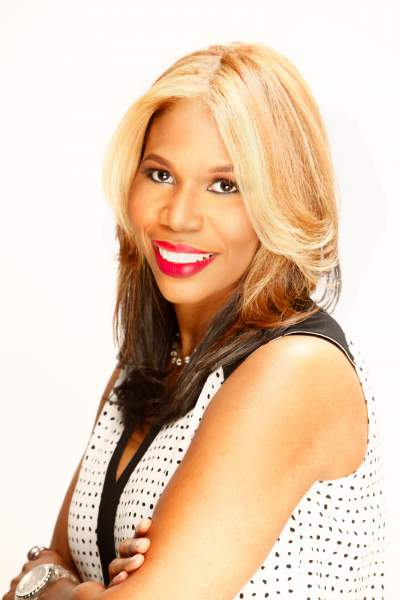 Author/Motivational Speaker/TV Personality Erica Strong