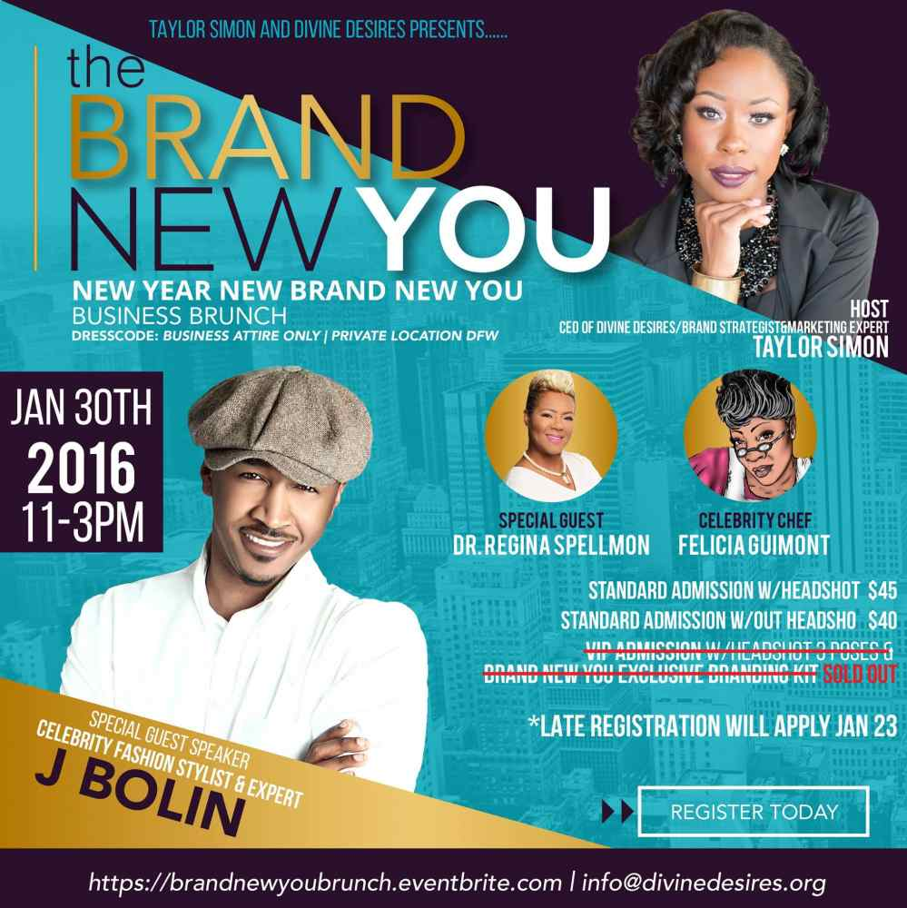 BRAND NEW YOU Business Brunch: Register NOW