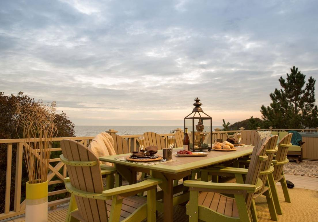 The Carrabelle Outdoor Dining Set By Countryside