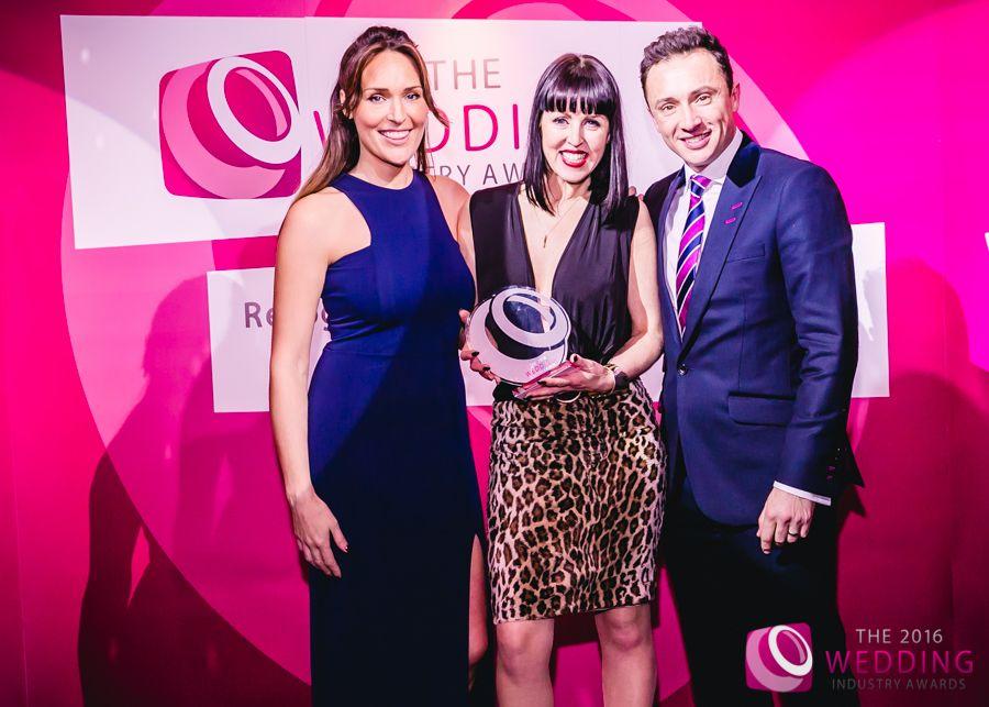 Vicki with her Award