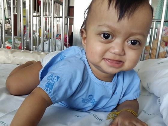 17-Month-Old Ukiko Rojcharatwatana