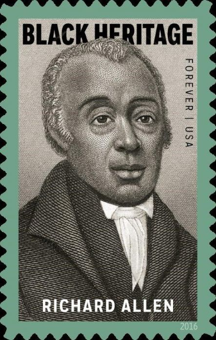 New Richard Allen Stamp Unveiling At Mother Bethel AME Church on Feb. 2nd