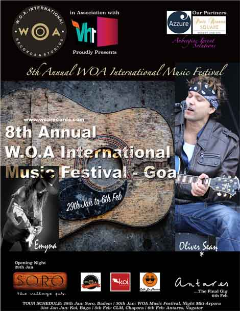 8th Annual WOA International Music Festival in association with Vh1
