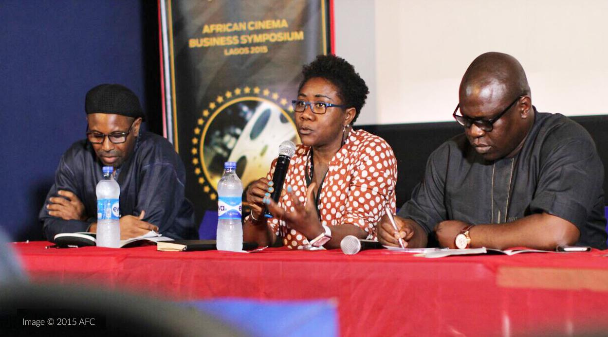 Ebele Okoye at the African Cinema Business Symposium Nov. 2015 image © AFC 2015