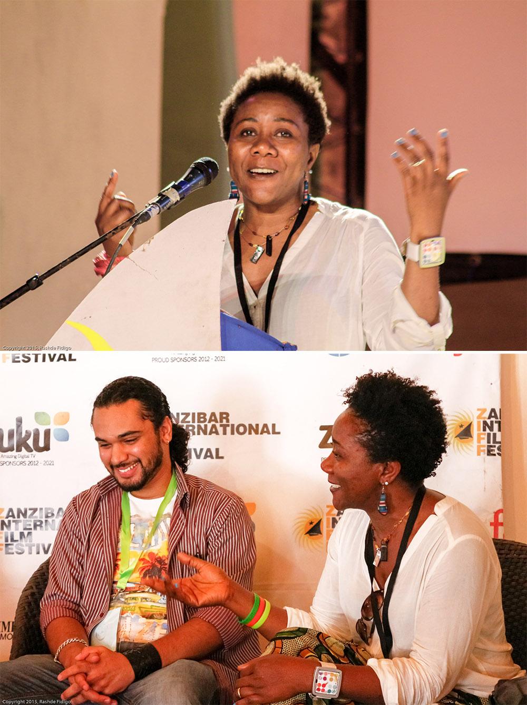 Ebele Okoye Zanzibar International Film Festival / image ©2015 Rashde Fidigo