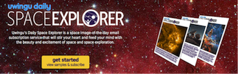 Uwingu's Space Explorer Image Subscription Service