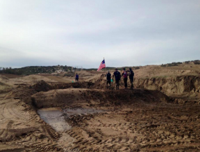 Ryan Atkins Signature Course Featured New Obstacles, Elevation and Mud