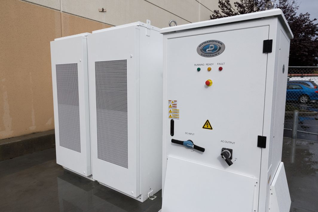 Sprig Electric installs one of the first Tesla Powerpack commercial batteries.
