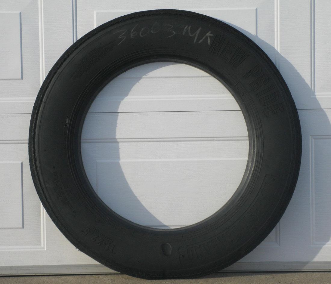 Solid Regular Tire Sidewall