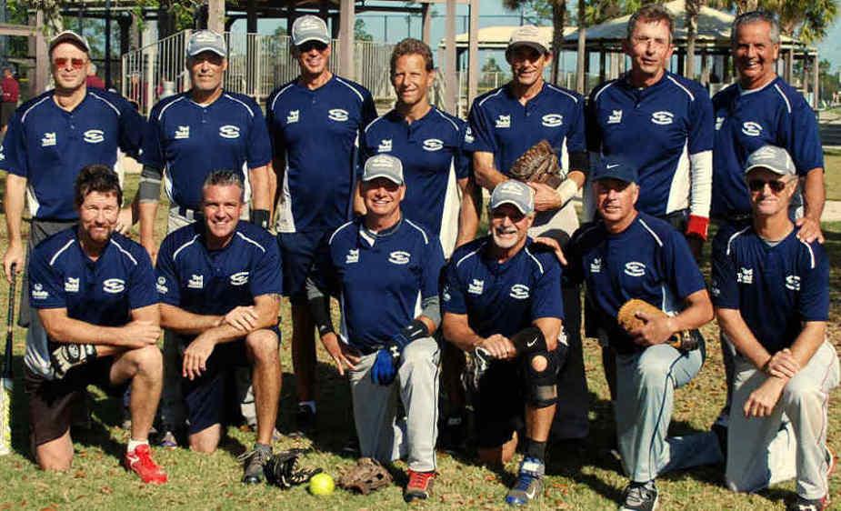 Collier County Senior Softball League 2015 Champions - Team Galuppo