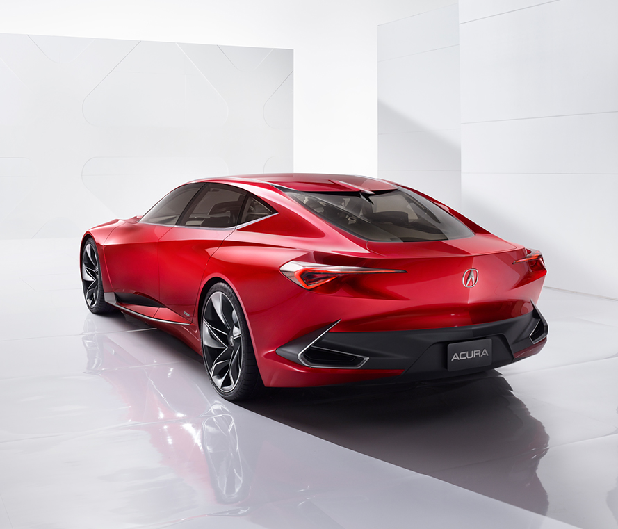 Forbes Declared The New Acura Precision Concept One Of The