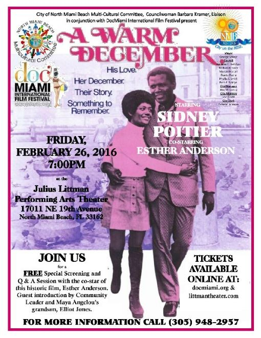 Special FREE Screening and Q & A with Co-Star, Esther Anderson