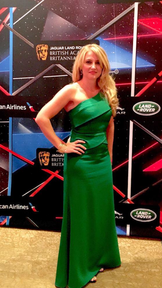 Janine Gateland attends the 2015 Britannia Awards