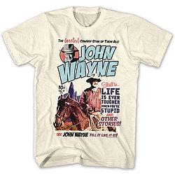 John Wayne Comic Style T-Shirt
