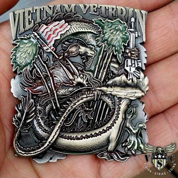 Vietname Veteran Coin