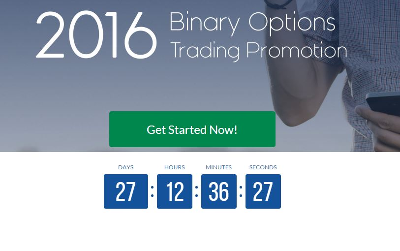 Binary option liquidity provider