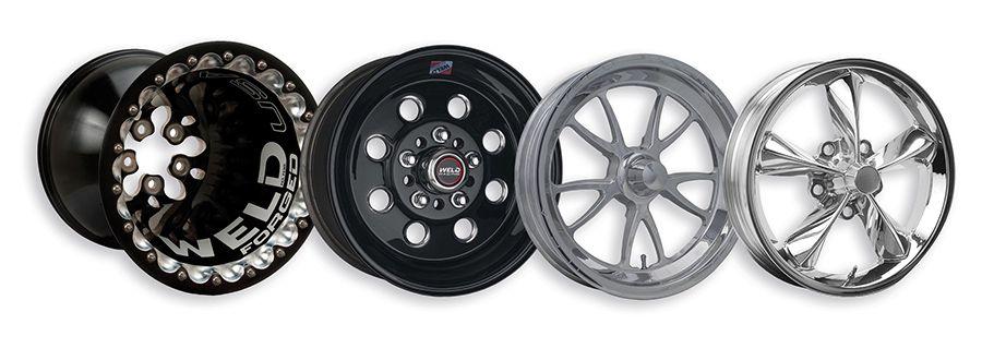 WELD Racing's lineup of drag racing wheels eligible for 2016 NHRA contingency