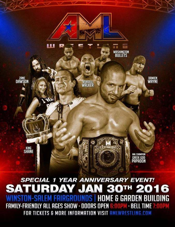 AML Wrestling 2016