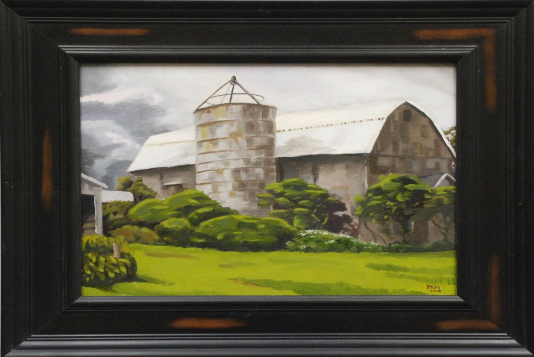 Springville Barn by Paul Martin