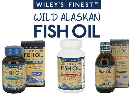 Exclusive bogof uk launch of wiley s finest fish oil for Fish oil alternative