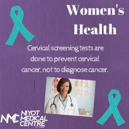 Cervical Screening - Niyot 2