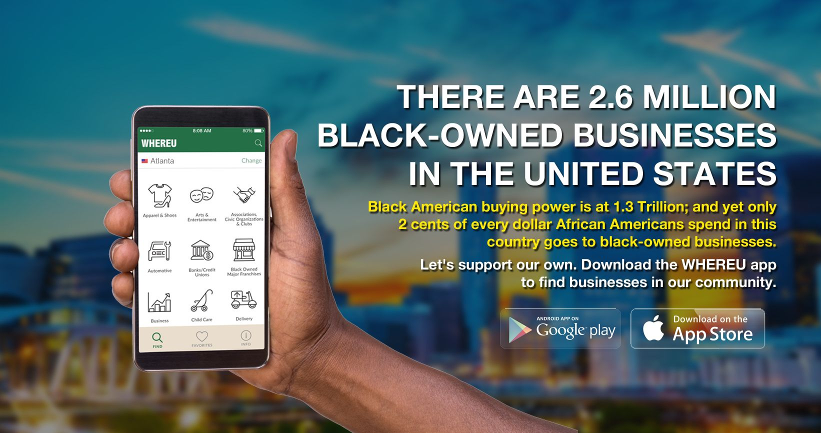There are 2.6 Million Black Owned Businesses in the United States