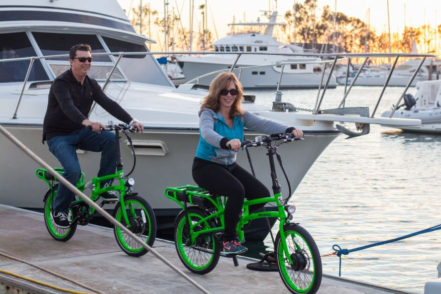 The Pedego Latch folding electric bike has been a hit with those on the go.