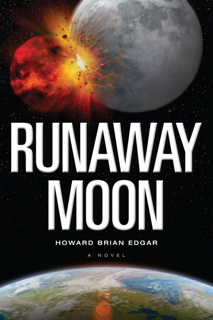 RUNAWAY MOON cover depicts moon/rogue dwarf collision
