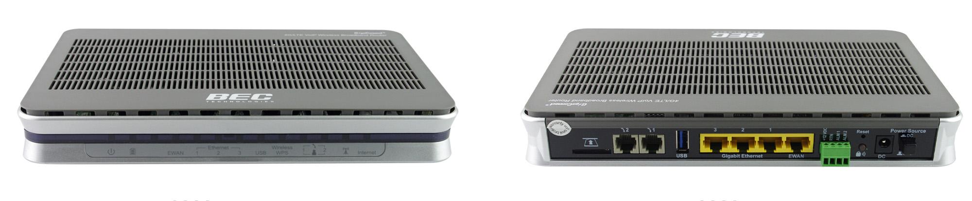 BEC 6300VNL front and back